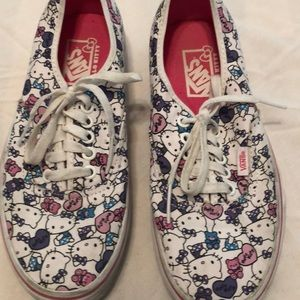Hello Kitty canvas tennis shoes